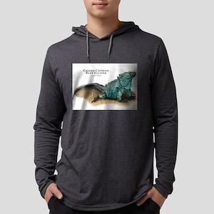 Grand Cayman Blue Iguana Long Sleeve T-Shirt