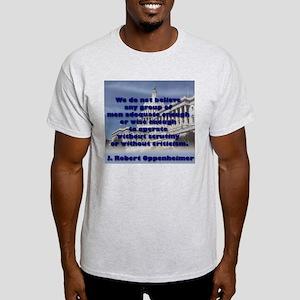Scrutinize Congress Light T-Shirt