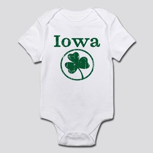 Iowa shamrock Infant Bodysuit