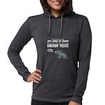 Not Enough Treats Womens Hooded Shirt