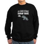 Not Enough Treats Sweatshirt (dark)