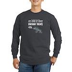 Not Enough Treats Long Sleeve Dark T-Shirt