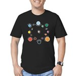 Outer Planes Men's Fitted T-Shirt (dark)