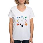 Outer Planes Women's V-Neck T-Shirt