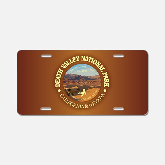 Death Valley NP Aluminum License Plate