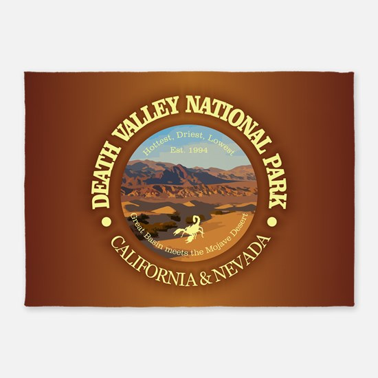 Death Valley NP 5'x7'Area Rug