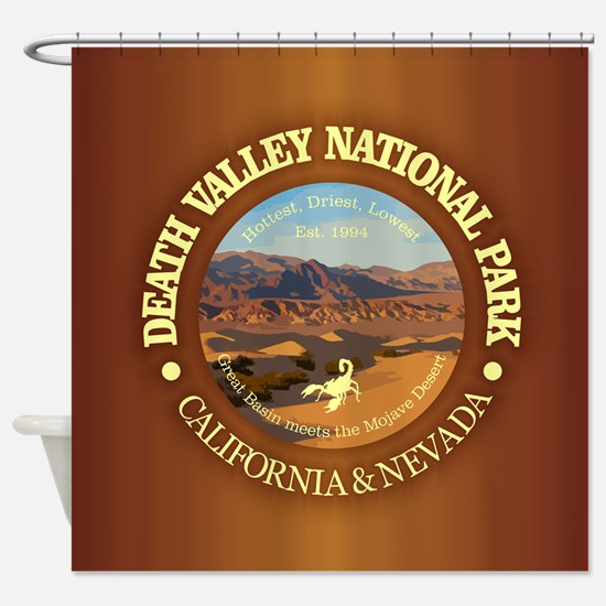 Death Valley NP Shower Curtain