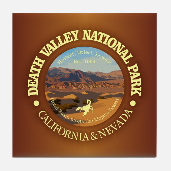 Death Valley NP Tile Coaster