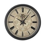The Cog Is Dead Large Wall Clock