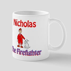 Nicholas - Firefighter Mug