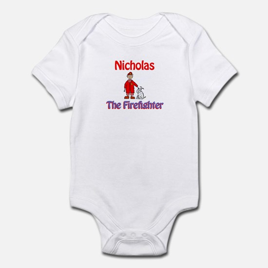 Nicholas - Firefighter Infant Bodysuit