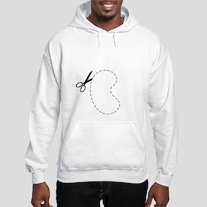 Kidney Cut Out Sweatshirt