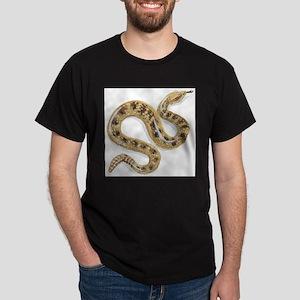 Sidewinder Snake Black T-Shirt