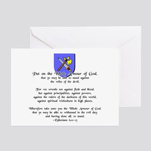 Whole Armour of God Greeting Cards (Pk of 10)