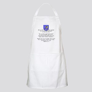 Whole Armour of God BBQ Apron