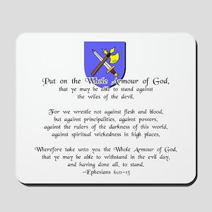 Whole Armour of God Mousepad