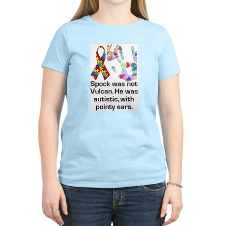 Autism: In Good Company Women's Pink T-Shirt