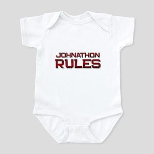 johnathon rules Infant Bodysuit