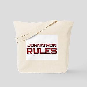 johnathon rules Tote Bag