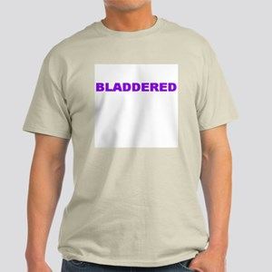 BLADDERED Ash Grey T-Shirt