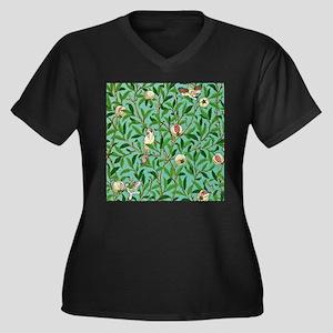 William Morris Design Plus Size T-Shirt