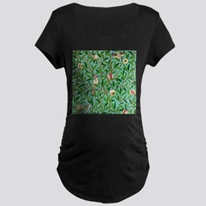 William Morris Design Maternity T-Shirt