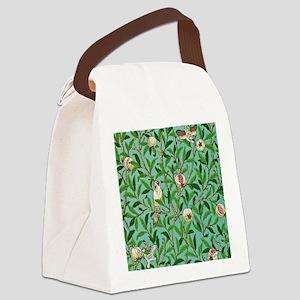 William Morris Design Canvas Lunch Bag