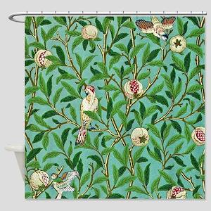 William Morris Design Shower Curtain