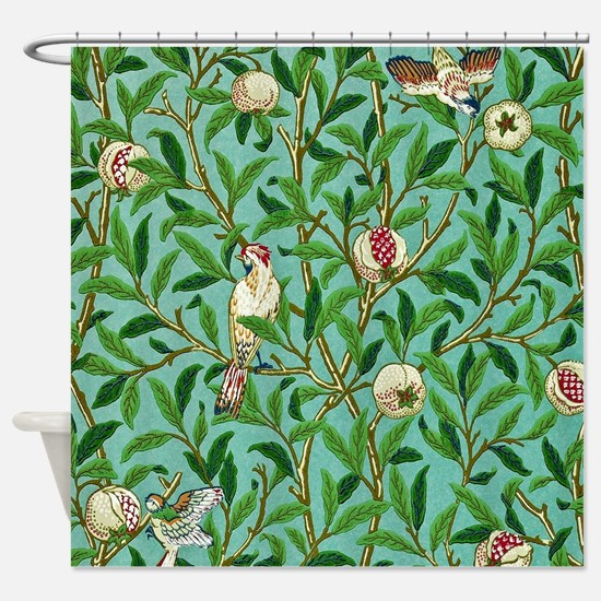 William Morris Design Shower Curtain
