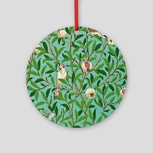 William Morris Design Round Ornament