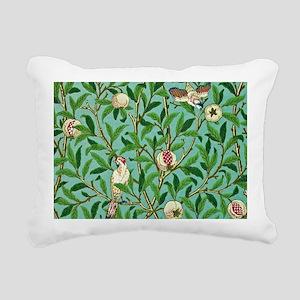 William Morris Design Rectangular Canvas Pillow