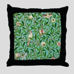 William Morris Design Throw Pillow