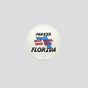 parker florida - been there, done that Mini Button