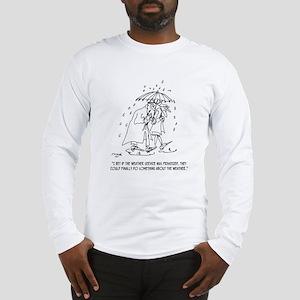 Weather Cartoon 1275 Long Sleeve T-Shirt