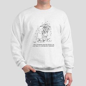 Weather Cartoon 1275 Sweatshirt