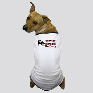 Service Dog On Duty - Dog T-Shirt