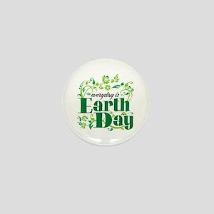 Earth Muffin Mini Button