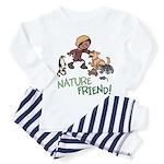 Saha: Nature Friend Toddler Pajamas