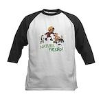 Saha: Nature Friend Kids Baseball Tee
