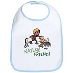 Saha: Nature Friend Cotton Baby Bib