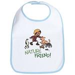 Saha: Nature Friend Cotton Baby Bib