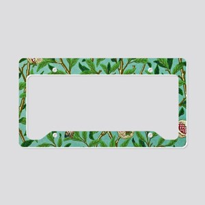 William Morris Design License Plate Holder