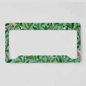 William Morris Design License Plate Holder
