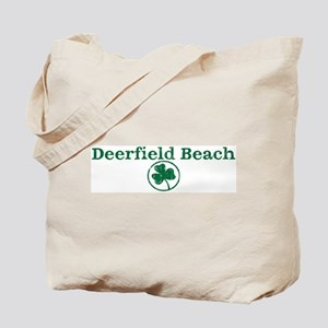Deerfield Beach shamrock Tote Bag
