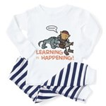 Oona: Learning is Happening! Toddler Pajamas