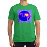 flamingo Men's Fitted T-Shirt (dark)