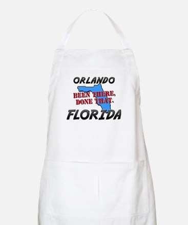 orlando florida - been there, done that BBQ Apron