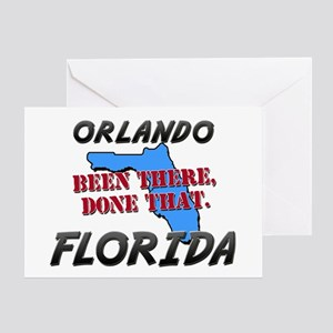 orlando florida - been there, done that Greeting C