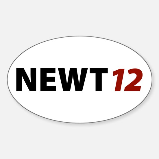 Newt '12 Oval Decal