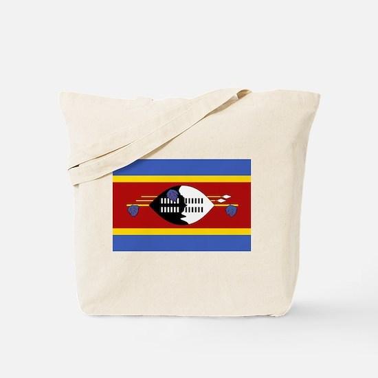 swaziland Flag Tote Bag